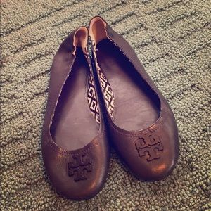 Tory Burch Leather Comfort Loafers